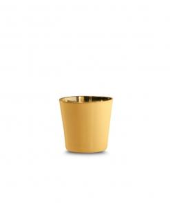 قاب پایه قیفی طلایی کوچک