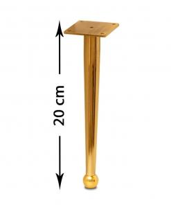 پایه مبل صدرا طلایی 20 سانت
