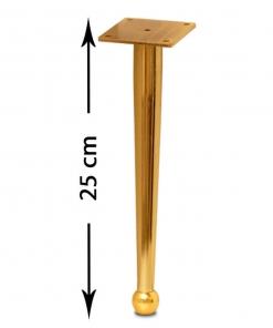 پایه مبل صدرا طلایی 25 سانت